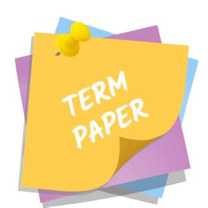 How To Write A Term Paper In APA Style - CaEduBirdiecom